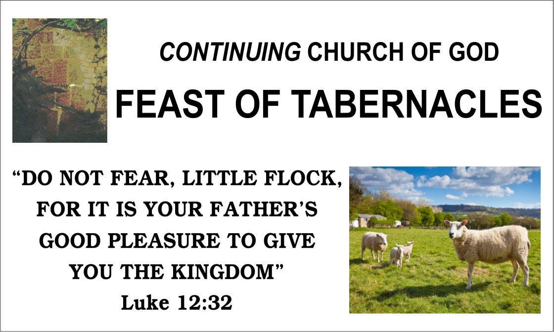 Feast of Tabernacles Opening Night Message