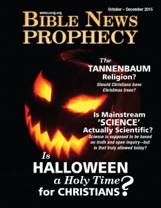 There are 7 reasons for Christians to celebrate Halloween? What about the Bible?