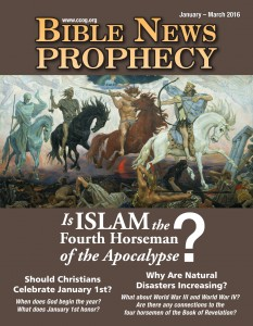 BibleNewsProphecy, January-March 2016: Is Islam the Fourth Horseman of the Apocalypse?