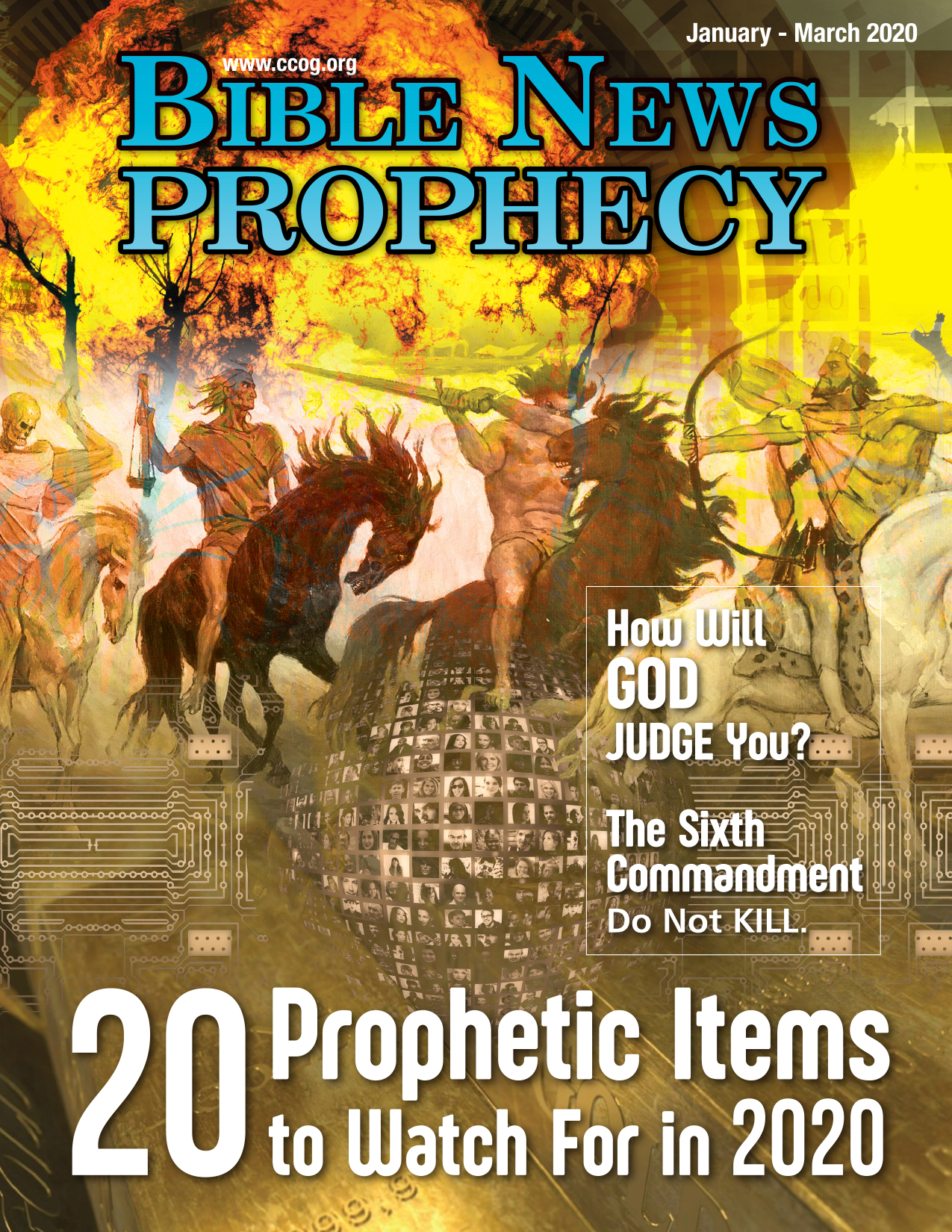 Bible News Prophecy January – March 2020: 20 Prophetic Items to Watch For in 2020
